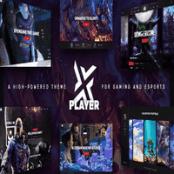 قالب بازی PlayerX برای وردپرس