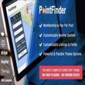 قالب دایرکتوری و فهرست PointFinder برای وردپرس