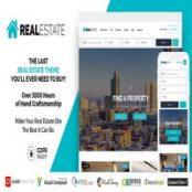 قالب Real Estate 7 راست چین برای وردپرس