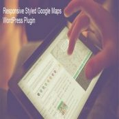 افزونه Responsive Styled Google Maps برای وردپرس