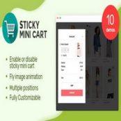 افزونه Sticky Mini Cart برای ووکامرس