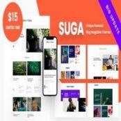 قالب Suga برای وردپرس