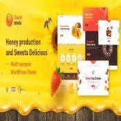 قالب SweetMielo – قالب زنبورداری و فروش عسل وردپرس