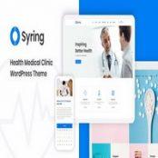قالب پرشکی Syring برای وردپرس