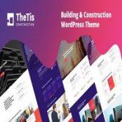 قالب معماری و ساختمانی وردپرس TheTis