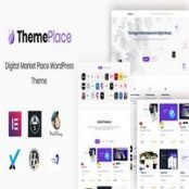 قالب ThemePlace – قالب فروش محصولات دانلودی وردپرس