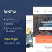 قالب رزرواسیون Travel Tour راستچین برای وردپرس