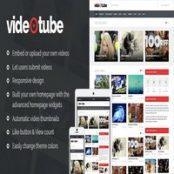 قالب VideoTube برای وردپرس