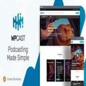قالب Wpcast برای وردپرس