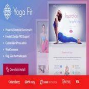 قالب Yoga Fit برای وردپرس