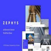 قالب Zephys برای وردپرس