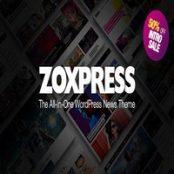 قالب خبری ZoxPress راست چین برای وردپرس