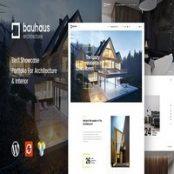 قالب Bauhaus – قالب طراحی داخلی و معماری وردپرس