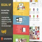 قالب Boldial WP برای وردپرس