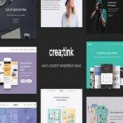قالب Creatink برای وردپرس