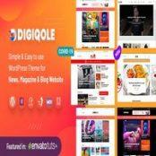 قالب Digiqole برای وردپرس RTL