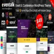 قالب EvenTalk – قالب کنفرانس و رویداد وردپرس