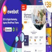 قالب Ewebot برای وردپرس