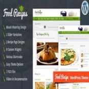 قالب Food Recipes – قالب آشپزی وردپرس