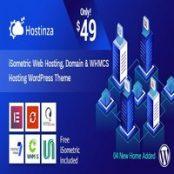 قالب Hostinza برای وردپرس – قالب هاستینگ و WHMCS