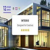 قالب معماری و دکوراسیون داخلی Interio برای وردپرس