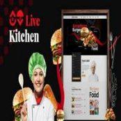 قالب Livekitchen – قالب کافه و رستوران وردپرس راستچین
