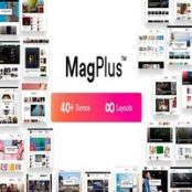 قالب MagPlus برای وردپرس