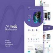 قالب Medio – قالب پزشکی وردپرس