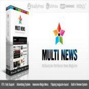 قالب Multinews برای وردپرس
