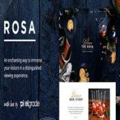 قالب ROSA رستوران وردپرس