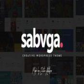قالب Sabvga برای وردپرس