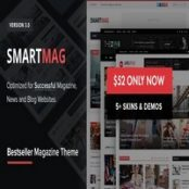 قالب SmartMag برای وردپرس