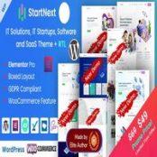 قالب StartNext راستچین شده برای وردپرس