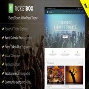 قالب TicketBox برای وردپرس