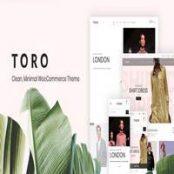 قالب Toro برای وردپرس