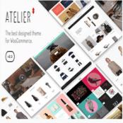 قالب وردپرس چندمنظوره Atelier
