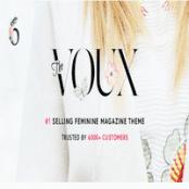 قالب مجله The Voux برای وردپرس