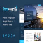 قالب حمل و نقل و باربری Transcargo برای وردپرس