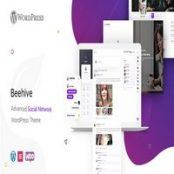 قالب شبکه اجتماعی وردپرس Beehive