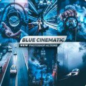 اکشن فتوشاپ Blue Cinematic
