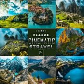 دانلود Cinematic-Landscap Travel Photoshop Actions
