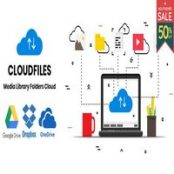 افزونه Cloudfiles برای وردپرس