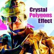 اکشن افکت Crystal Polygons Effect کریستال چندضلعی