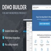 افزونه Demo Builder برای وردپرس
