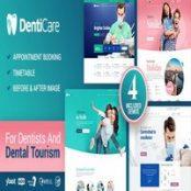 قالب DentiCare راست چین برای وردپرس