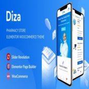قالب Diza برای وردپرس