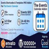 دانلود Events Shortcodes & Templates Pro Addon For The Events Calendar