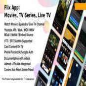 اپلیکیشن اندروید Flix App Movies