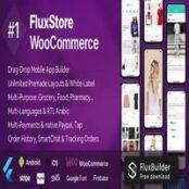 اپلیکیشن Fluxstore WooCommerce