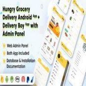اپلیکیشن اندروید Hungry Grocery Delivery